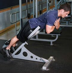 Hyperextension Bench Exercises